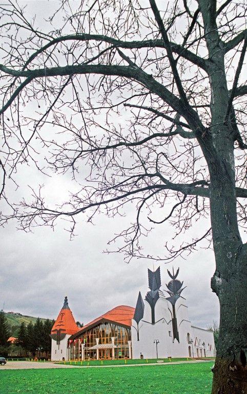 1991 Lendva, Színház | Makovecz Imre