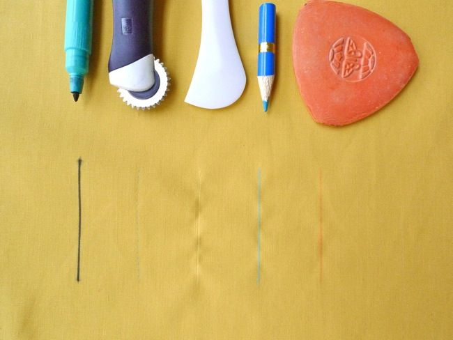 Marking & Cutting #Fabric -- Guide to the tools & their uses, a great reference guide for #sewing