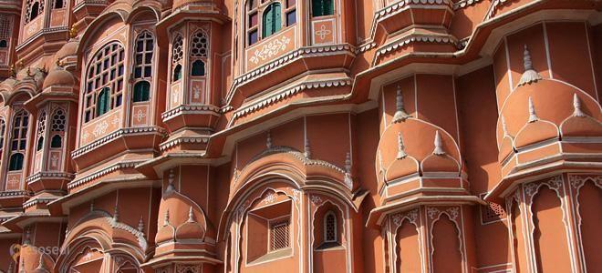 Хава Махал – #Индия #Раджастхан (#IN_RJ) Хава Махал, или Дворец Ветров - одна из главных достопримечательностей индийского города Джайпур, очень удачно разместившаяся по соседству с самой большой обсерваторией в мире. http://ru.esosedi.org/IN/RJ/1000090878/hava_mahal/