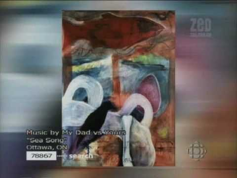 CBC TV, late night art show on ZeD . Art and Soul  Episode 57 | 2005 Music: My Dad vs Yours: I was the only woman in the company of the likes of Reece Terris, Ray Ceasar, Kris Knight & others for an all visual artist episode.   #art #nadinatandy