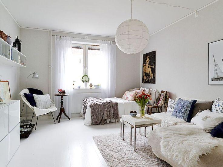 Stylish and cute apartment studio decor ideas (12)