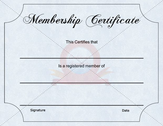 The  Best Images About Membership Certificate Template On