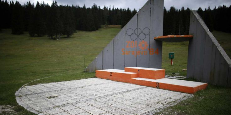 Sad Photos Of Abandoned Venues From The 1984 Winter Olympics