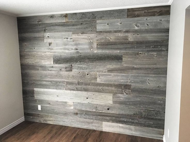 25 best ideas about rustic grey bedroom on pinterest for Grey feature wallpaper bedroom