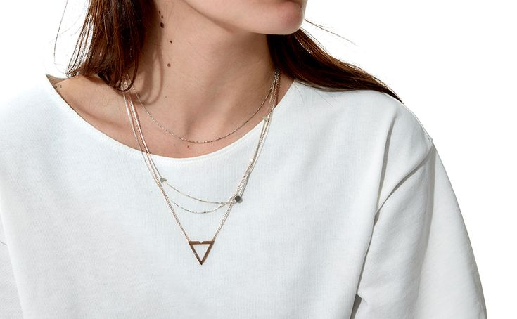 Delicate chain necklaces are an absolute staple amongst most jewellery consumers and are one of the most easily accessible pieces of jewellery. Whether a simple, understated silver chain from Lucy Folk or a rose gold pendant from Maria Black, simple delicate chains lend themselves to being layered, mixed and matched and a pendant creates a focal point.