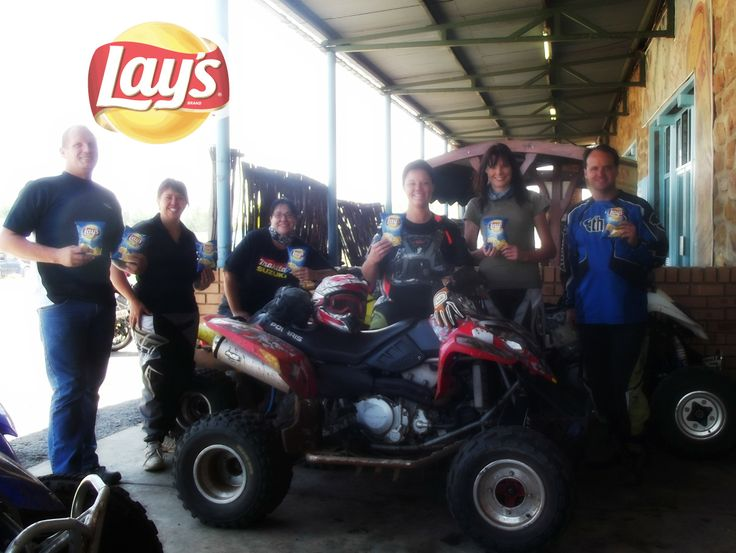 Quadbiking with Lay's!!! Was such a lekker weekend with great friends and Lays