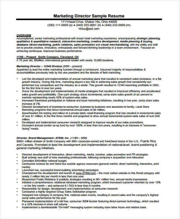 25 best ideas about marketing resume on