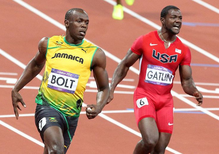 Sir Usain Bolt says he is Disappointed in Justin Gatlin 2016
