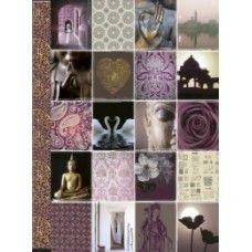 Happinez Notebook Boeddha klein. Luxe uitgevoerd notitieboek met goudfolie accenten op de cover en rug. Met gelinieerde bladzijden en elastieken sluitband Hardcover, 140 pag. Formaat 180x135x16mm