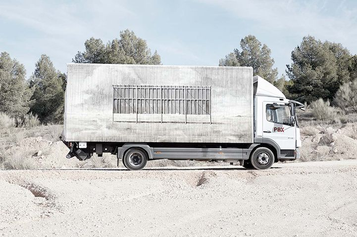 Freight Truck Exteriors Are Being Transformed into Mobile Art Galleries
