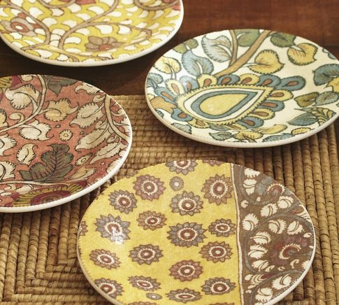 These are perfect for layering over my cream Emma Dinner Plates. Goldfinch Salad Plate Set of 4 & 33 best Accent Plates Obsessed! images on Pinterest   Dish sets ...