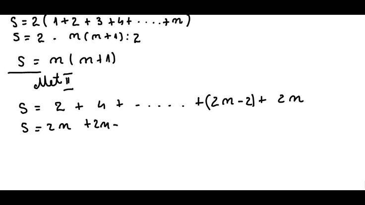 Clasa a V-a - Cap. Nr. naturale - ex 1 - Sume Gauss - suma primelor 2n n...
