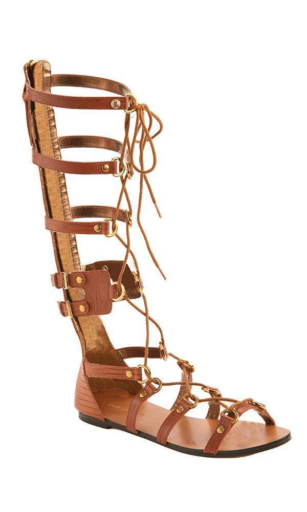 a5d74e6c9e79 Athena Tall Gladiator Sandals ~ Long Gladiator Sandals