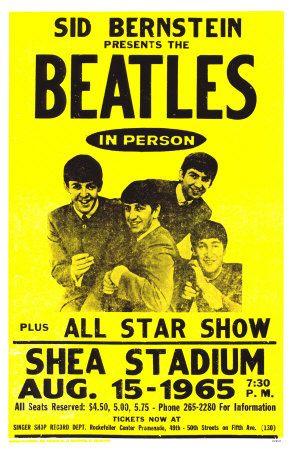 The Beatles at Shea Stadium, New York, 1965