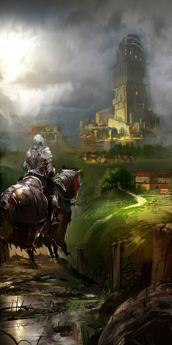 RPG Setting Inspirations by Mr Pook Pook