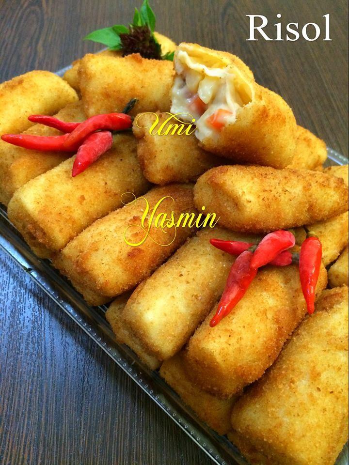 Risol By Fah Umi Yasmin Langsungenak Com Resep Ide Makanan Resep Makanan Makanan Dan Minuman