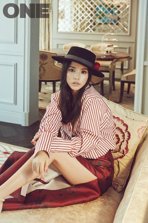 Min Hyo Rin reveals what type of man she'd like to marry in her 'ONE' pictorial | allkpop.com
