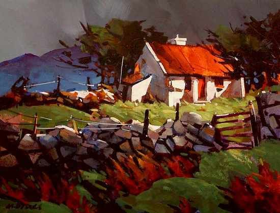 Stormy Day In Connemara by Michael O'Toole (Canadian)