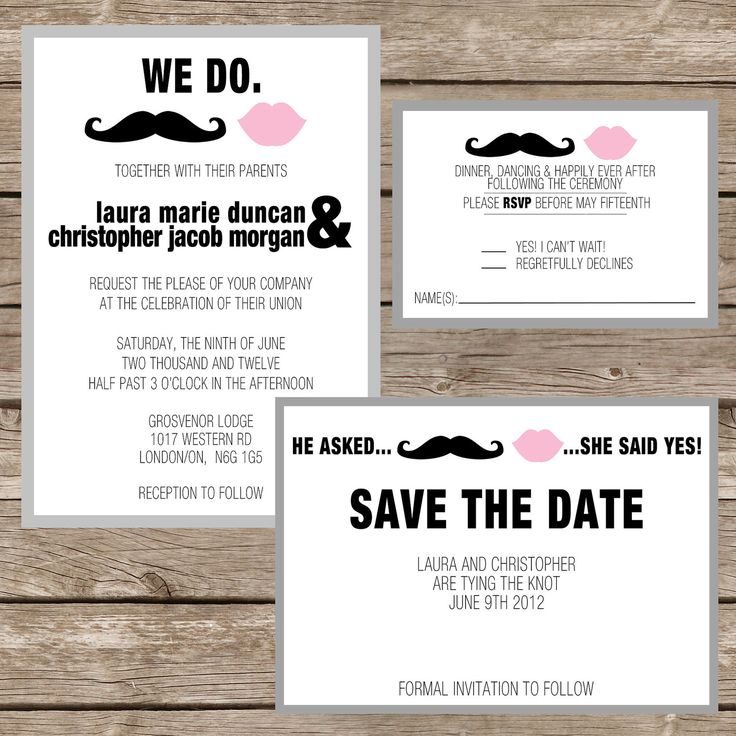 Best 25 Unusual wedding invitations ideas – Rsvp in Invitation Card Meaning