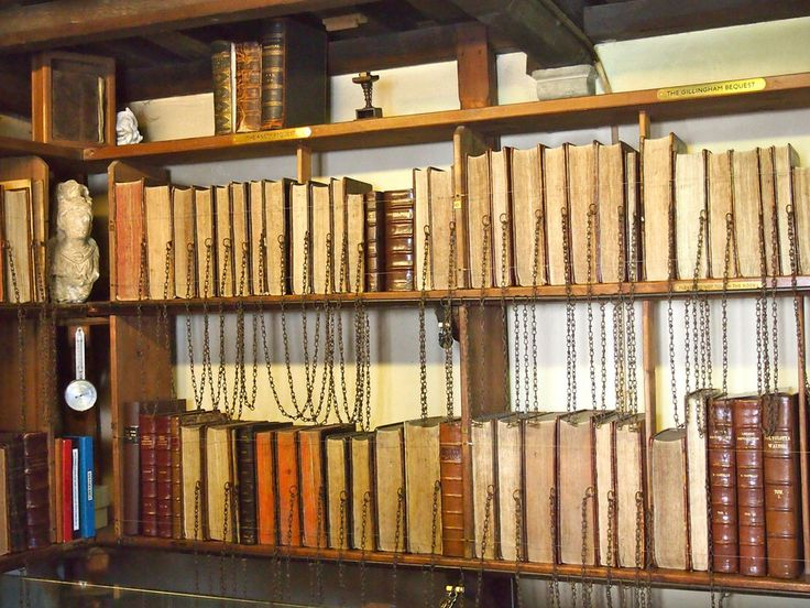 Wimborne Minster Chained Library | Atlas Obscura
