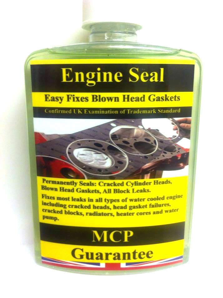 Permanently Seals:Cracked Cylinder Heads,Blown Head Gaskets, All Block Leak.,MCP