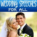 http://www.weddingnortheast.co.uk/groom-wedding-speech-tips-and-other-wedding-speeches/  Most wedding speeches are today delivered as a ritual. The bride's father is too busy making wedding arrangements and has not spent sufficient time reciting his wedding speech; the groom is too overwhelmed by the occasion to stand up and deliver the groom wedding speech; and the Best Man is busy