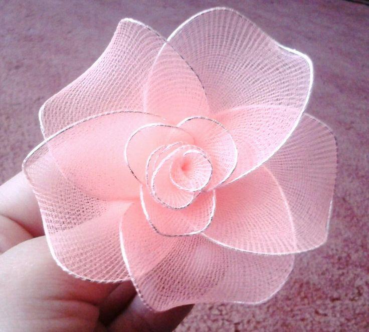 Harisnyavirág-nylon flower Rózsa-rose