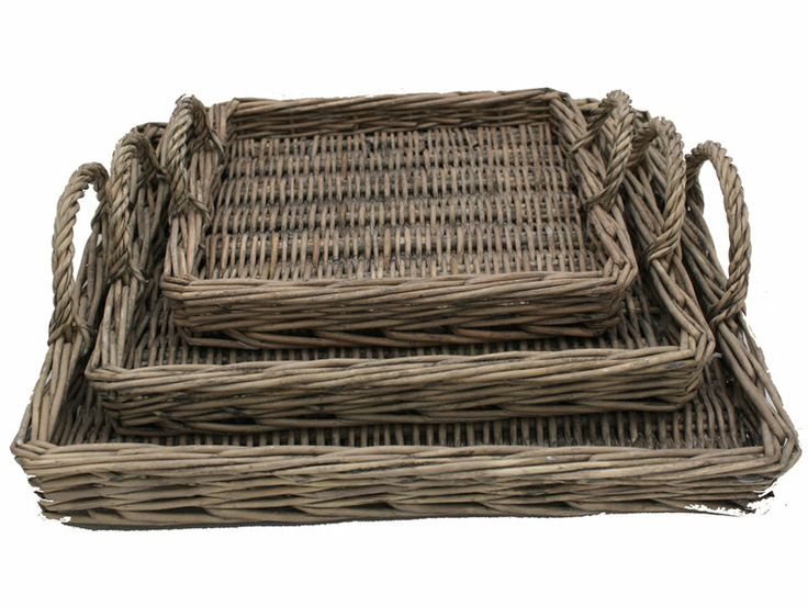 Country French Provincial Wicker Tray - Lifestyle Home and Living