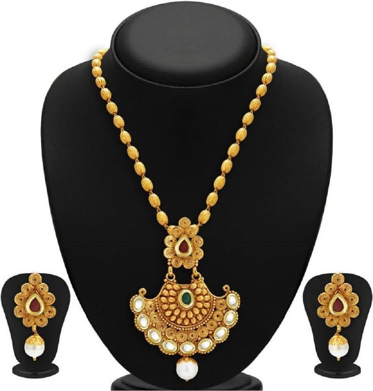Apara Bridal Pearl Lct Stones Gold Necklace Set Jewellery: 8 Best PARTYWEAR JEWELERY SETS Images On Pinterest