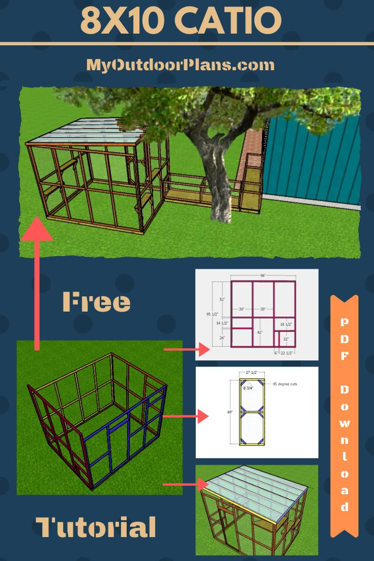 how to build a catio tunnel