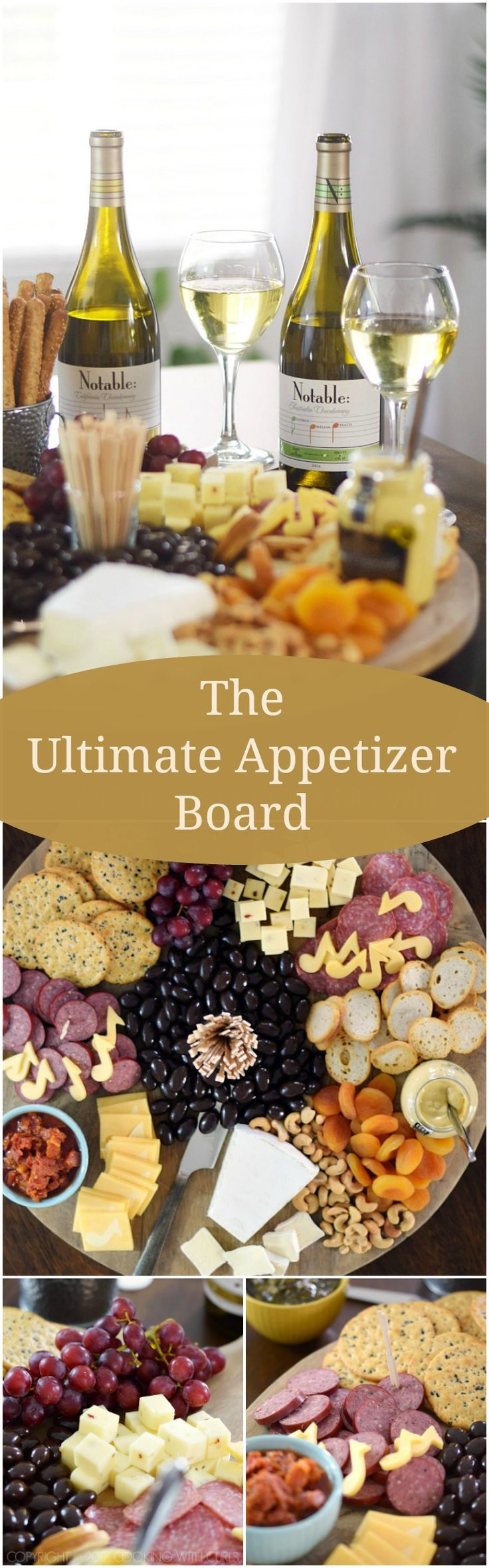 Msg 4 21+ The Ultimate Appetizer Board for an impromptu party using ingredients that are easily available at your grocery store! via @cookwithcurls