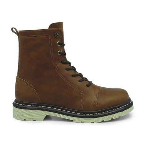 Bota Cravo e Canela Coturno 85605-37 - Whisky - Calçados Online Sandálias, Sapatos e Botas Femininas | Katy.com.br