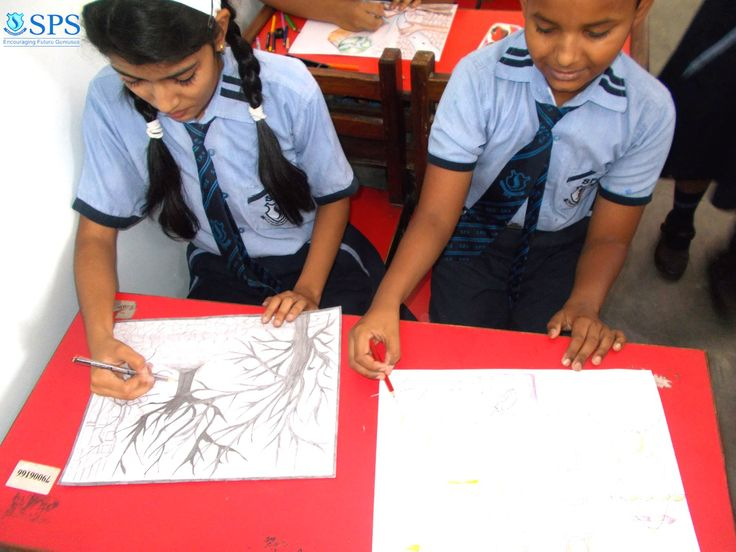 Engaged is an Interesting battle of colours and words, students of Sobtis Public School, displayed their exemplary intellectual and creative talent during the DRAWING AND ESSAY WRITING COMPETITION organized under the 16th ALL INDIA HOPE TALENT CONTEST by the SCHOOLS INDIA SOCIETY ON 8th of May,2017.