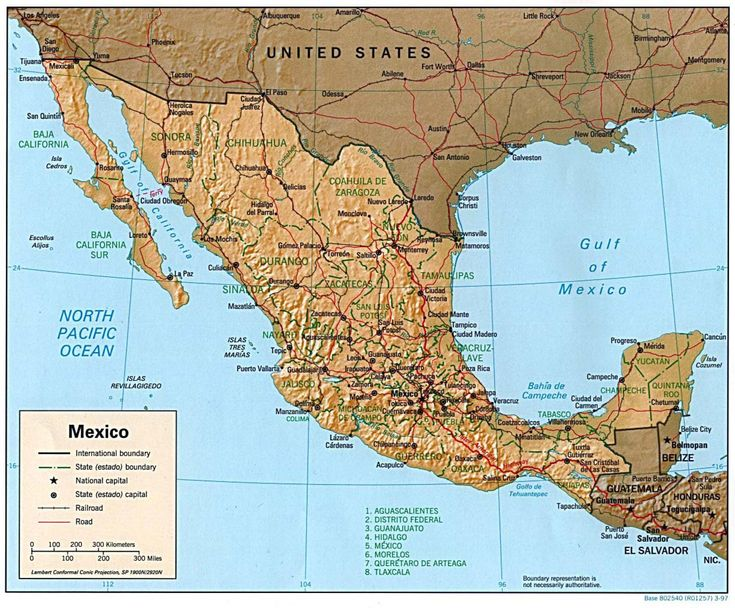 11 best Maps Mapas Mexico images on Pinterest  Mexico Map
