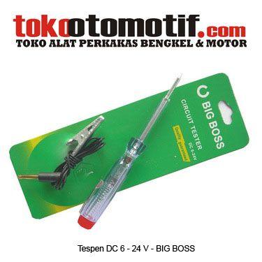 Kode : 80000000413 Nama : Tespen DC (Circuit Tester) Merk : BIG BOSS Tipe : Plastik Status : Siap Berat Kirim : 1 Kg