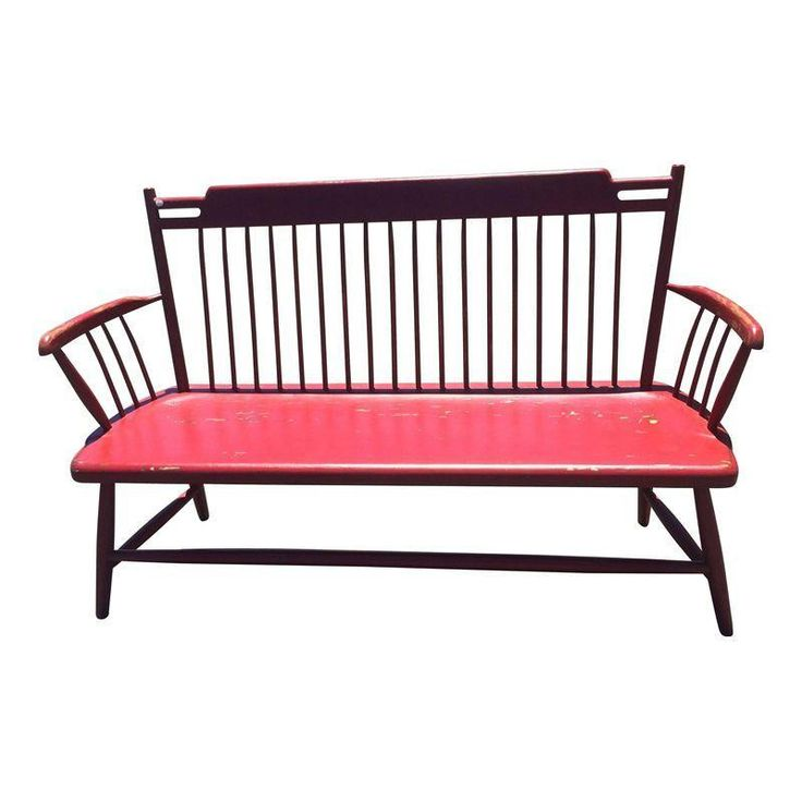 Red Richard Mulligan bench  for the entryway?
