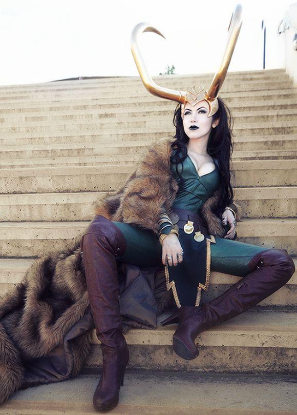 @Julia Fearrington Den Breejen Galindo  Female Loki Cosplay