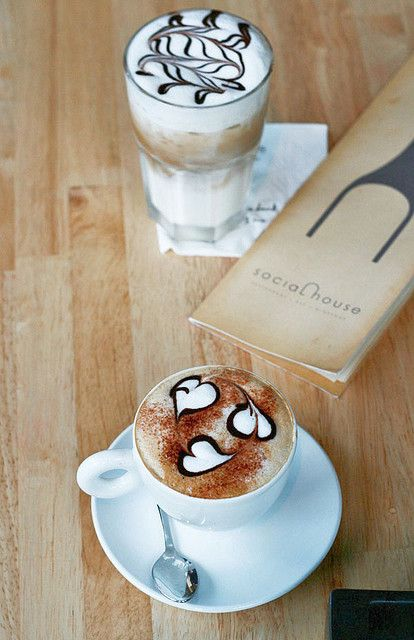 Latte Art--I need to learn how to make this!