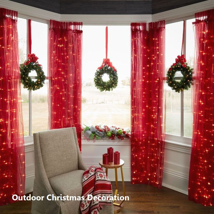Outdoor Christmas Decoration 2020 Indoor Christmas Decorations Indoor Christmas Christmas Window Decorations