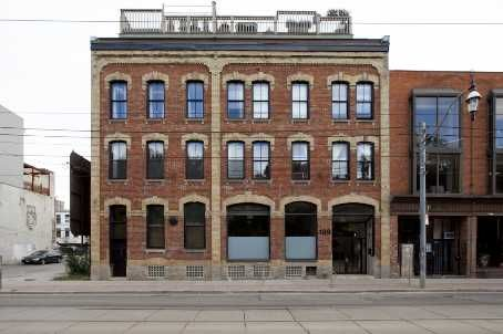 189 Queen St E   Boiler Factory Lofts   Exposed wood beams, hardwood floor and roof terraces. Originally a boiler factory in the 1800's, this building is now home to 11 great lofts that have large windows, 14ft ceilings and multi level living. #Toronto #Condos #Lofts