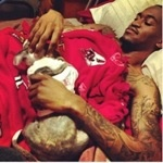 On March 31, University of Louisville basketball player, Kevin Ware, suffered a compound fracture to his leg during an NCAA tournament game against Duke. Ware has a long and painful recovery ahead, and he just adopted a dog to help him through it    The Bark Online Magazine