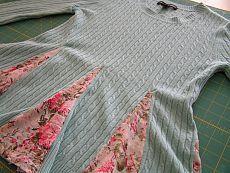 Переделываем старый свитер в стильную обновку