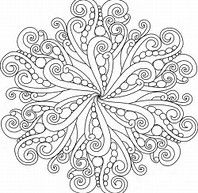 Image result for free christmas mandalas to color