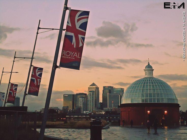 Greenwich sunset by Enea H. Medas  on 500px