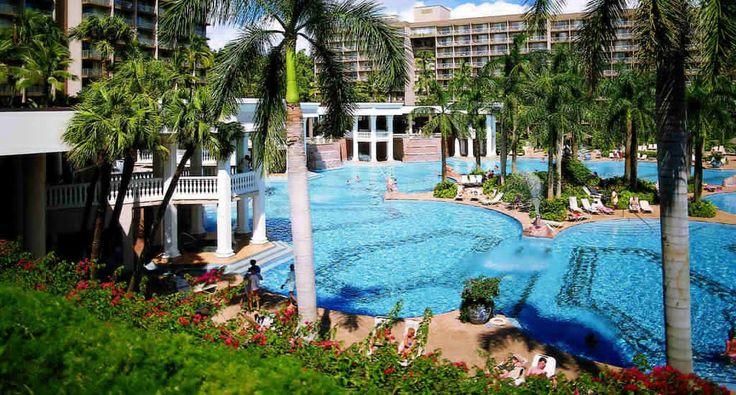Kauai Marriott Resort, Beachfront, w/car, Book Now! http://www.tropicaltravel.net/vacation_packages/d//kauai/vacation/7888/ #kauai #beachfront #hawaiidestination
