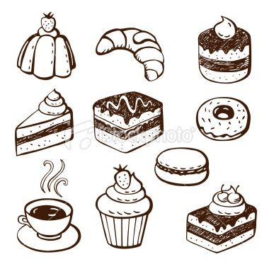 cake doodles