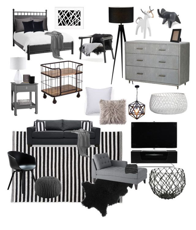 """Guest house"" by karleighrempel on Polyvore featuring interior, interiors, interior design, home, home decor, interior decorating, Bungalow 5, Redford House, MacKenzie-Childs and Dot & Bo"