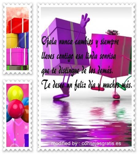 buscar bonitas tarjetas con textos de cumpleaños para compartir en whatsapp: http://www.consejosgratis.es/frases-de-saludos-de-cumpleanos-para-whatsapp/