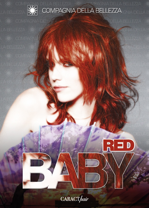 Compagnia della #Bellezza. Collection #CARACThair: Red Hair. #Red #hair.