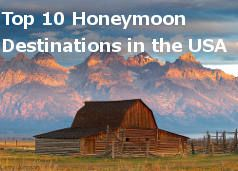 Our picks for the Top 10 Honeymoon Destinations in the USA | Honeymoons.com